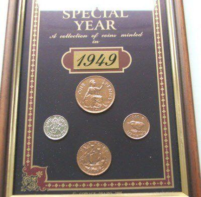1949 Coins Collection gift