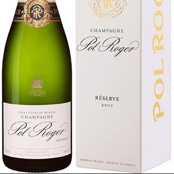 Pol Roger Brut Reserve Magnum Champagne