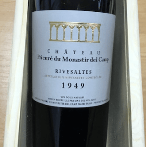 1949 Wine For A 70th Birthday Gift