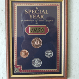 1950 Coin Collection gift ideas