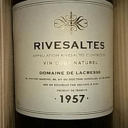 1957 vintage wine foto 655